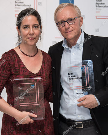 Jessica Cohen (Translator) and David Grossman (Author, 'A Horse Walks Into a Bar')