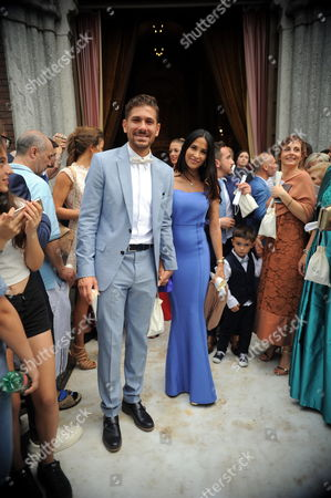 Alessio Cerci and his wife Federica Riccardi
