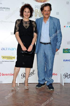 Anna Ferruzzo and Massimo Wertmuller