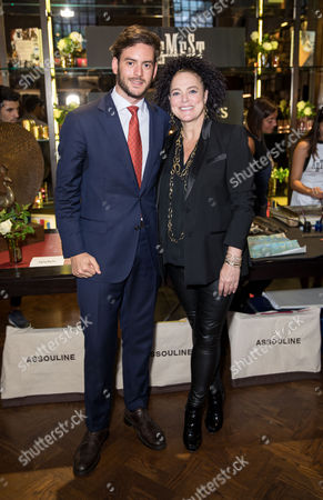 Stock Photo of Marco Credendino and Ippolita Rostagno - Founders of Artemest