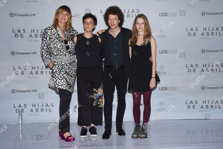 Emma Suarez, Joanna Larequi, Michel Franco and Ana Valeria Becerril