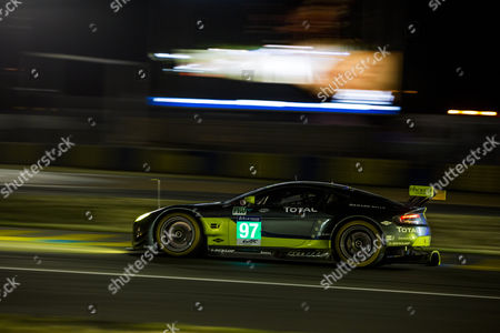 97 ASTON MARTIN RACING, ASTON MARTIN VANTAGE Darren TURNER GBR, Jonathan ADAM GBR, Daniel SERRA BRA during the 24 Hours of Le Mans 2017 free practice session and qualifying 1 stage at Le Mans, Pays de la Loire