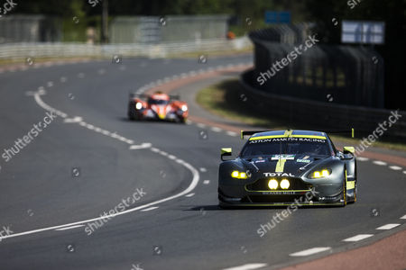 Stock Photo of 97 ASTON MARTIN RACING, ASTON MARTIN VANTAGE Darren TURNER GBR, Jonathan ADAM GBR, Daniel SERRA BRA during the 24 Hours of Le Mans 2017 free practice session and qualifying 1 stage at Le Mans, Pays de la Loire