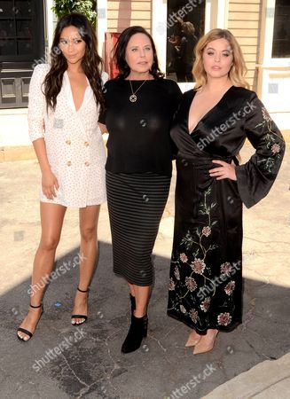 Shay Mitchell, I. Marlene King, Sasha Pieterse