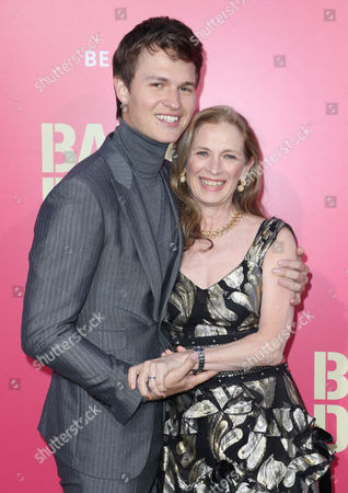 Ansel Elgort and Grethe Barrett Holby