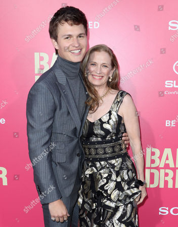 Stock Picture of Ansel Elgort and Grethe Barrett Holby