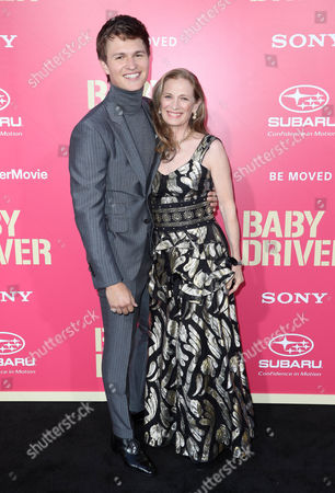 Editorial picture of 'Baby Driver' film premiere, Arrivals, Los Angeles, USA - 14 Jun 2017