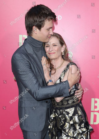 Stock Photo of Ansel Elgort and Grethe Barrett Holby