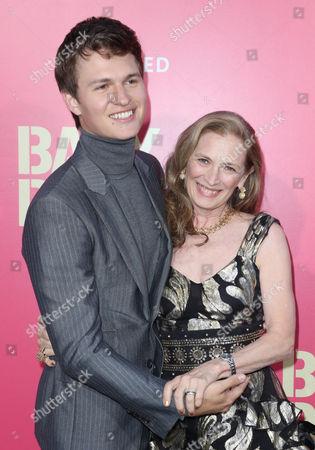 Stock Image of Ansel Elgort and Grethe Barrett Holby