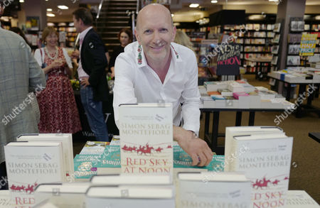 Editorial photo of Red Sky At Noon Book Launch, Waterstone's Book Store, London, UK - 14 Jun 2017