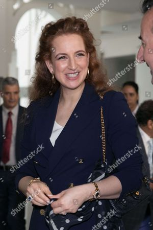 Princess Lalla Salma at the Picasso exhibition at the National Museum of Contemporary Arts of Rabat.