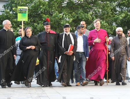 Editorial image of Muslim Aid Sunset Walk of Peace, London, Britain - 10 Jun 2017