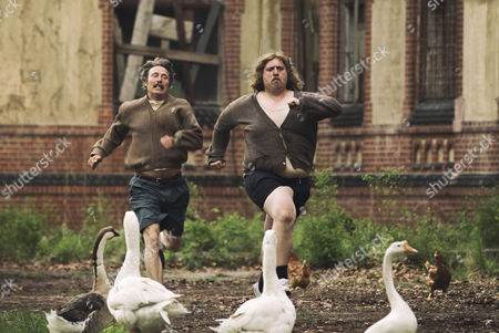 Editorial picture of Men and Chicken - 2016