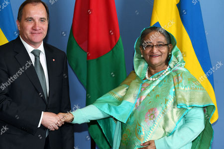Editorial photo of Prime minister of Bangladesh visits Sweden, Stockholm - 15 Jun 2017