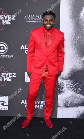 Editorial photo of 'All Eyez on Me' film premiere, Arrivals, Los Angeles, USA - 14 Jun 2017