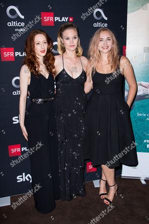 Roxane Duran, Julia Stiles, Chloe Jouannet