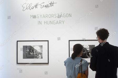 Editorial picture of Elliott Erwitt exhibition in Budapest, Hungary - 15 Jun 2017
