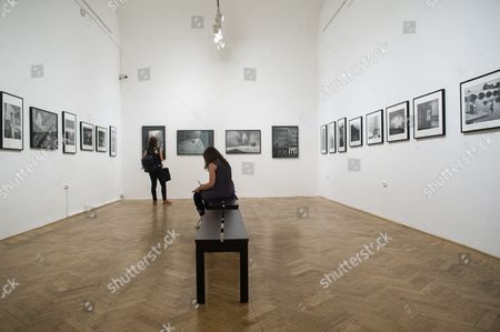 Editorial image of Elliott Erwitt exhibition in Budapest, Hungary - 15 Jun 2017