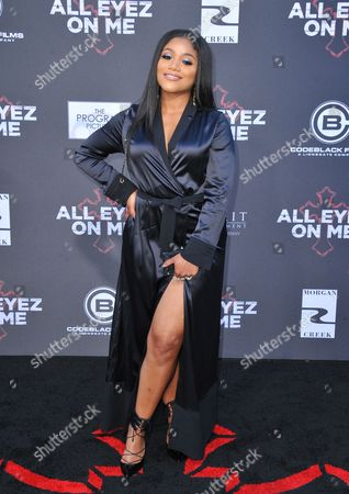 Editorial picture of 'All Eyez on Me' film premiere, Arrivals, Los Angeles, USA - 14 Jun 2017
