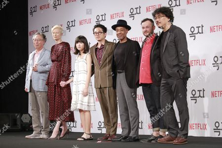 Editorial picture of 'Okja' film photocall, Seoul, South Korea - 14 Jun 2017
