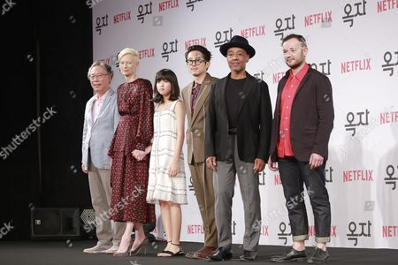 Editorial image of 'Okja' film photocall, Seoul, South Korea - 14 Jun 2017