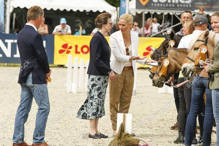 Princess Anne and Judith Rakers