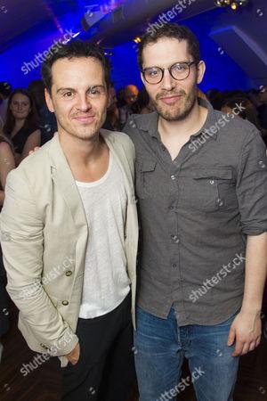 Andrew Scott (Hamlet) and Robert Icke (Director)