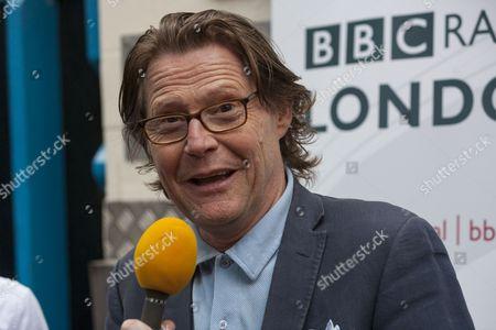Radio London's presenter Robert Elms