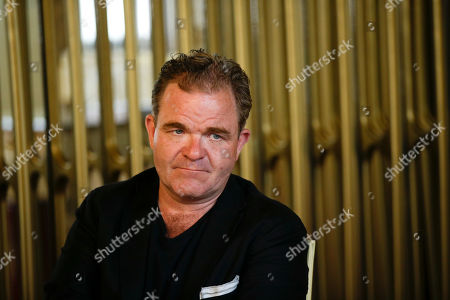 Cornelius Obonya looks on during a press conference to present the opera 'Die Entfuehrung aus dem Serail' at the Teatro alla Scala theatre in Milan, Italy