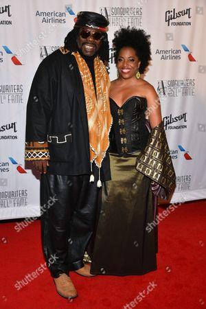 Stock Photo of Rodney Kendrick, Rhonda Ross Kendrick
