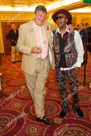 Stephen Fry & Leee John