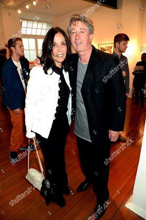 Olivia Harrison and Tony Hicks