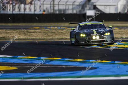 97 ASTON MARTIN RACING, ASTON MARTIN VANTAGE Darren Turner GBR, Jonathan Adam GBR, Daniel SERRA BRA during the 24 Hours of Le Mans 2017 qualifying 2 and qualifying 3 at Le Mans, Le Mans