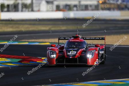 23 PANIS BARTHEZ COMPETITION LIGIER JSP217 - GIBSON, Fabien Barthez FRA, Timothé BURET FRA, Nathanaël BERTHON FRA during the 24 Hours of Le Mans 2017 qualifying 2 and qualifying 3 at Le Mans, Le Mans