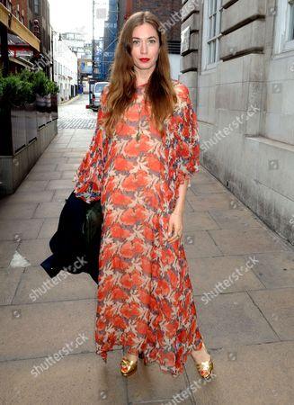 Editorial picture of Estee Lauder party, London, UK - 15 Jun 2017