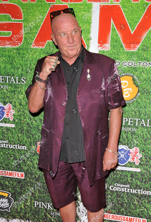 Stock Picture of Dave Courtney