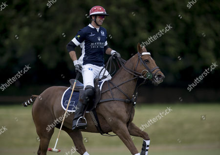 Malcolm Borwick playing during the Maserati Royal Charity Polo Trophy