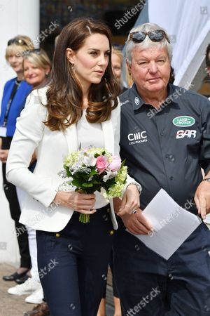Catherine Duchess of Cambridge and Keith Mills