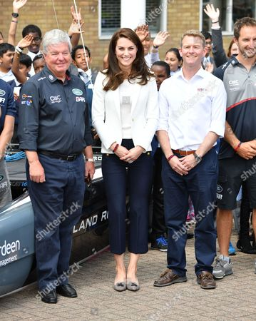 Keith Mills and Catherine Duchess of Cambridge