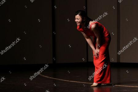 Editorial image of Sa Chen in concert, Shenyang, Liaoning Province, China - 16 Jun 2017