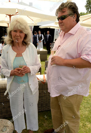 Jilly Cooper and Felix Cooper