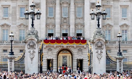 Editorial picture of Trooping the Colour ceremony, London, UK - 17 Jun 2017