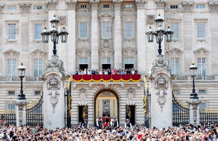 Editorial photo of Trooping the Colour ceremony, London, UK - 17 Jun 2017