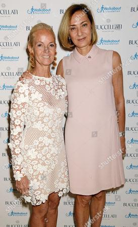 Monica Gonzalez-Bunster and Maria Cristina Buccellati