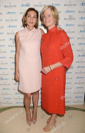 Maria Cristina Buccellati and Lady Ruth Dundas
