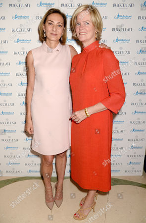 Stock Photo of Maria Cristina Buccellati and Lady Ruth Dundas