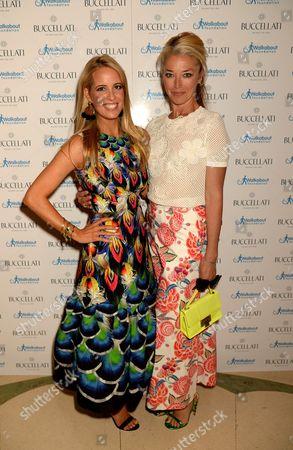 Carolina Bonfiglio and Tamara Beckwith