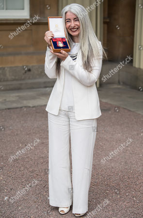 Dame Evelyn Glennie who became a member of the Order of the Companions of Honour