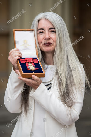 Stock Image of Dame Evelyn Glennie who became a member  of the Order of the Companions of Honour