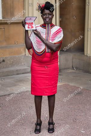 Editorial image of Investitures at Buckingham Palace, London, UK - 16 Jun 2017